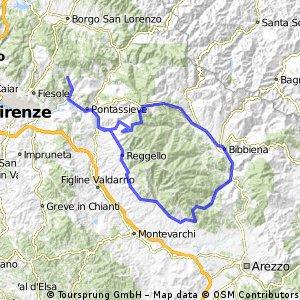 Rund um den Monte Pratomagno