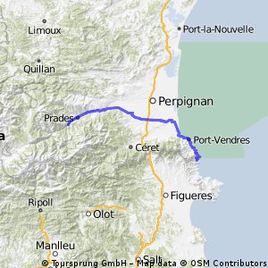 transpirenenca 1 Portbou-Vilafranca