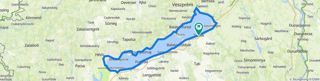 Tour de Pelso - XXVI. Balaton Maraton 2020