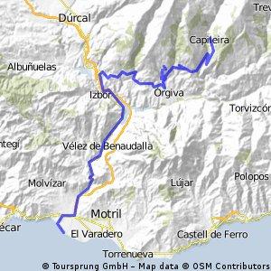 4ª etapa Alpujarra2009.