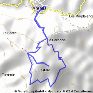 Excursión del CEIP Ramón Mª Del Valle Inclán a Ben-Tomiz.