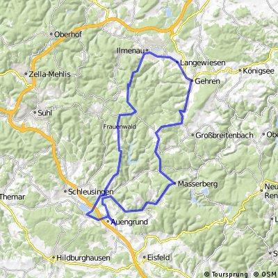 Über den Thüringer Wald
