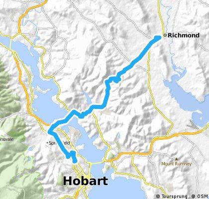 Giro Tasmania Day 1: Hobart To Richmond