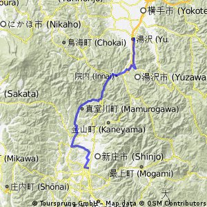 Yamagata explorer pt4 : Shinjo - Yuzawa 湯沢