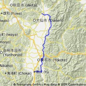 Yuzawa - Kakunodate 角館