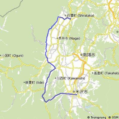 Yamagata explorer pt2b : Yonezawa - Arato