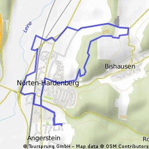 Angerstein-Nörten- Burgruine-Felder Rundeweg