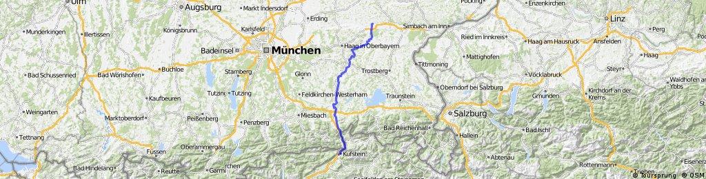 Transalpine (1) Zangberg - Kufstein