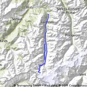Kaunertaler Gletscher+Pillerhöhe