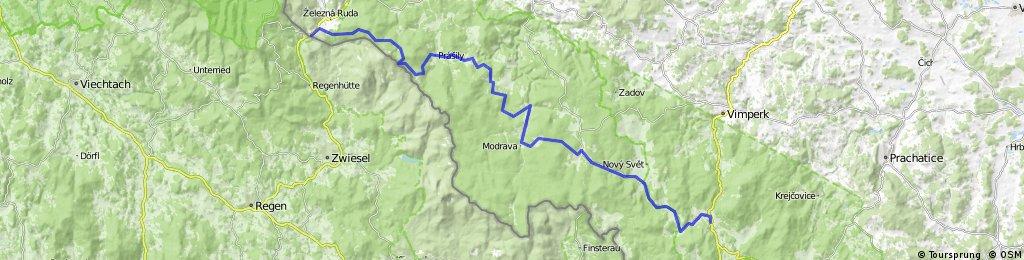 Šumava 2010 - železná Ruda - Horná Vltavice