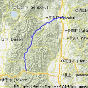Morioka 盛岡- Yuda 湯田
