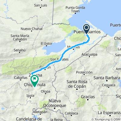 etapa 2 Puerto Barrios-Chiquimulo