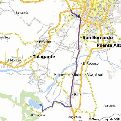 """ruta 1.0 """"Los iwis"""" - Laguna Aculeo, 30 - 10 - 2011"""