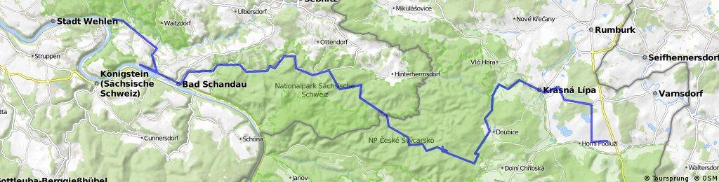 Říjen 2011 - Dolní Podluží - Kurort Rathen