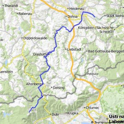 Říjen 2011 - Kurort Rathen - Nové Město