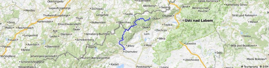 Říjen 2011 - Nové Město - Chomutov