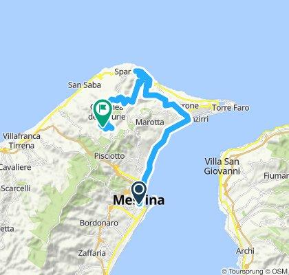 Sperone-Torrente Tono-Corsari-MassaS.Nicola-Cimitero Castanea-Portella Castanea-Monte Ciccia-Annunziata