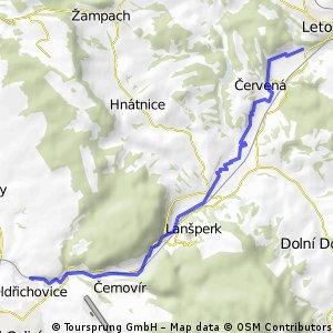 ORLICE - Letohrad - Cakle