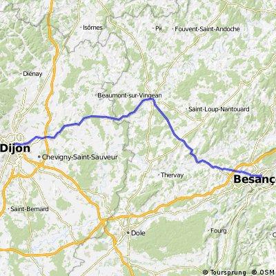 FR 3 - Besancon - Dijon