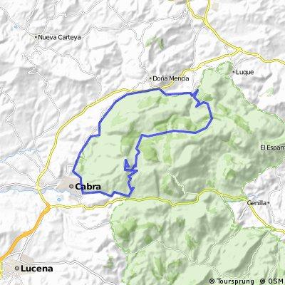 Cabra - Ermita - Zuheros - Via verde - Cabra
