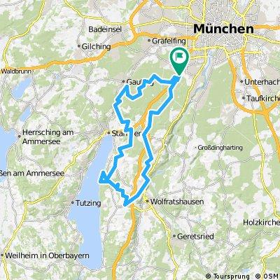 Crosser-Tour Starnberger See