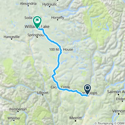 Kamloops - Williams Lake