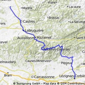 lézignan corbières - lautrec