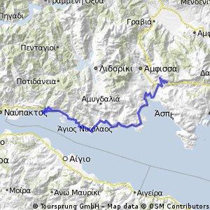 Tour of Hellas: 4th Stage - Delphi to Marathon