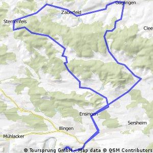 Stromberg  trainings route