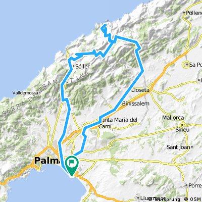 Palma – Puig Mayor and Sa Calobra (tough ride)