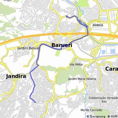 Rota Prineya - Parque Municipal - BARUERI