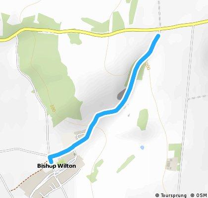 Bishop Wilton Hill Climb