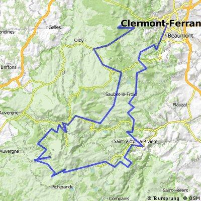 Clermont-Ferrand -  Le Puy de Dôme