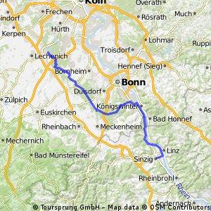 Kottenforst Rheinschine-Radweg