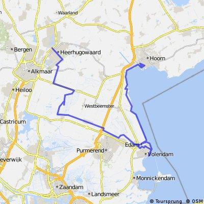 IJsselmeer Radtour Tag 2 und 3 - Von Herrhugowaard nach Hoorn