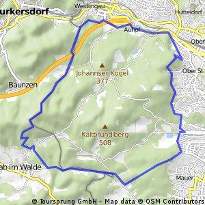 Rund um den Lainzer Tiergarten (offizielle Strecke)