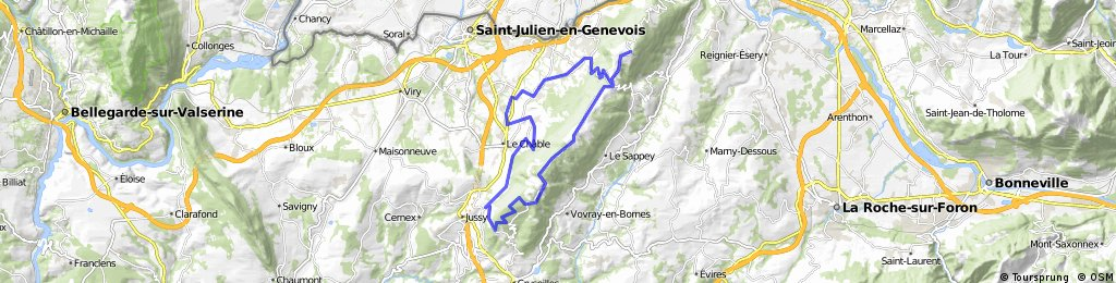 Saleve by trails