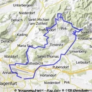 Sonnenschein Biketour -Magdalensberg