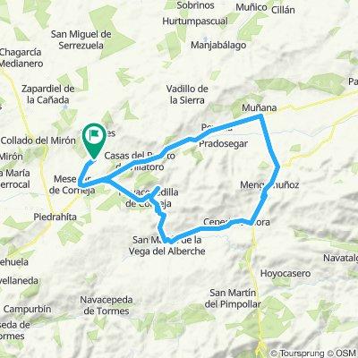Bonilla de la Sierra - Chía - Menga - Villatoro