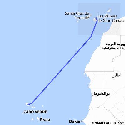 Gran Canaria - Kaapverdische Eilanden