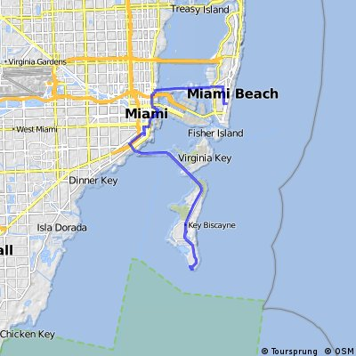 South Beach - Key Biscayne CLONED FROM ROUTE 169920