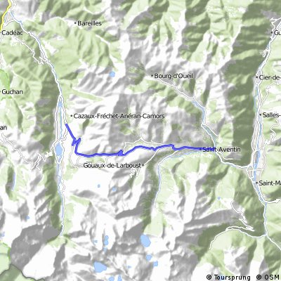 Cycling the Alps Col de Peyresourde (1559m)