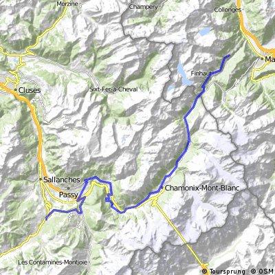 Transalpine (9) Medéttaz - Megève