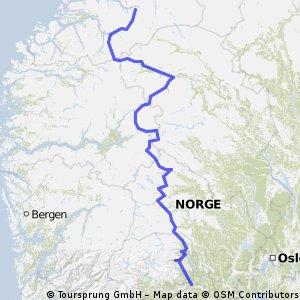 fjella i sør norge