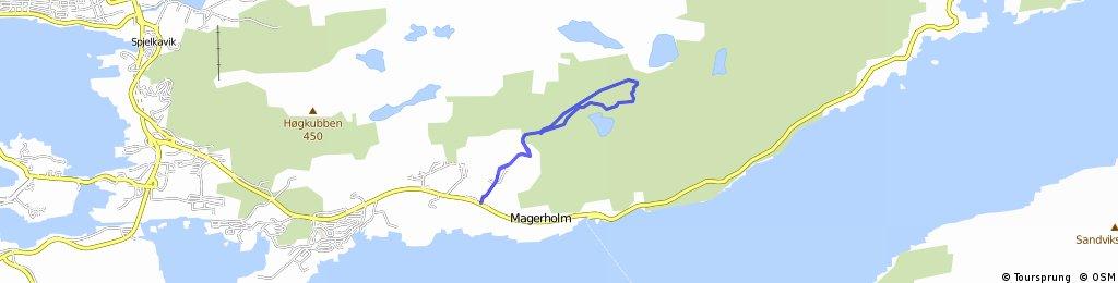 Lysløype - Emblemsfjell (Gamlevegen Østrem)