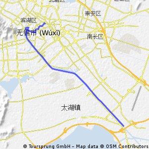 无锡312岔道口-火车站