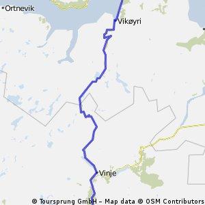 Noorwegen trip route 4: Voss - Balestrand