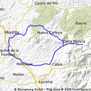 Nueva Carteya, Zuheros, Cabra