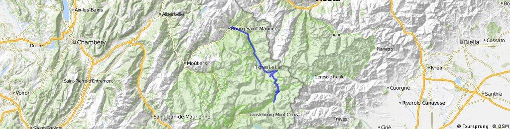 Transalpine (11) Bourg St. Maurice - Vijaron
