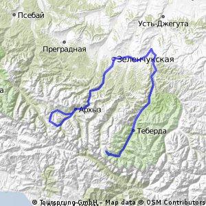 Архыз-Домбай 2009 Предварительно